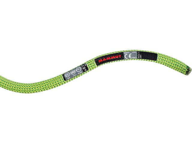 Mammut 8.7 Serenity Dry Rope 60m neon green